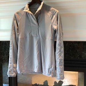 Athleta quilted sweatshirt